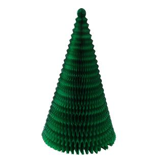 XMAS 15 CONE TREE 73CM GREEN