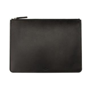 NAPPER LEATHER BLACK IPAD POUCH