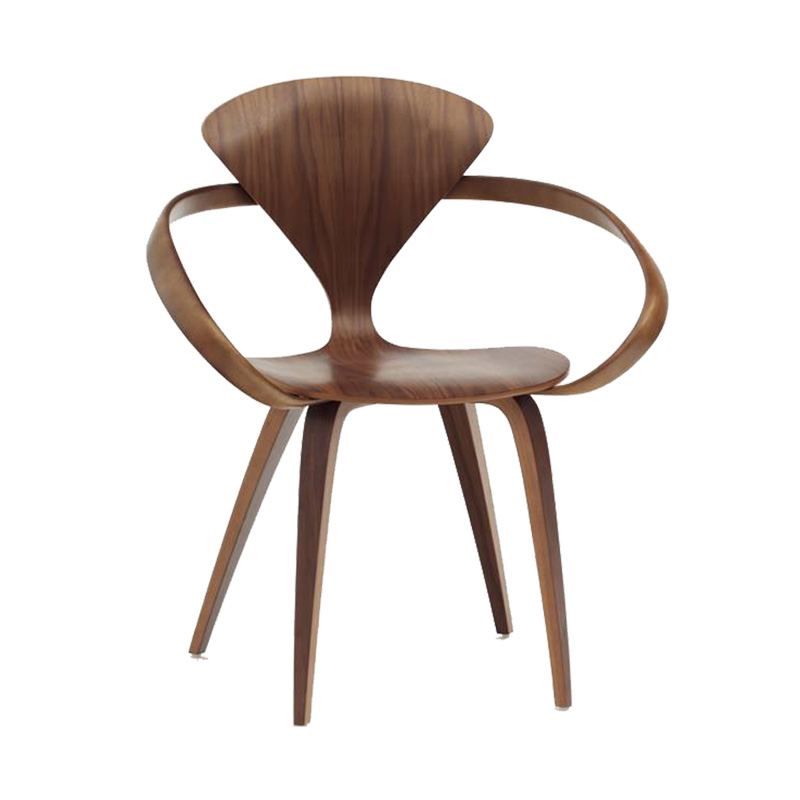 CHERNER ARMCHAIR WALNUT