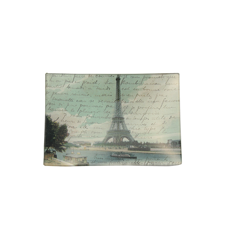PARIS POSTCARD RECTANGULAR MINI-TRAY