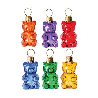 XMAS 14 GUMMY BEARS SET (6)