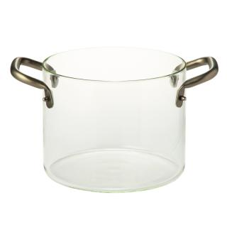 KNPRO GLASS POT 24 CM
