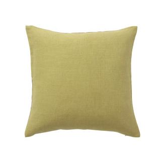 LARA CUSHION COVER HERRINGBONE CELERY