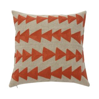 ARROW CUSHION COVER BRICK