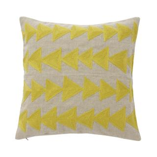 ARROW CUSHION COVER STRAW