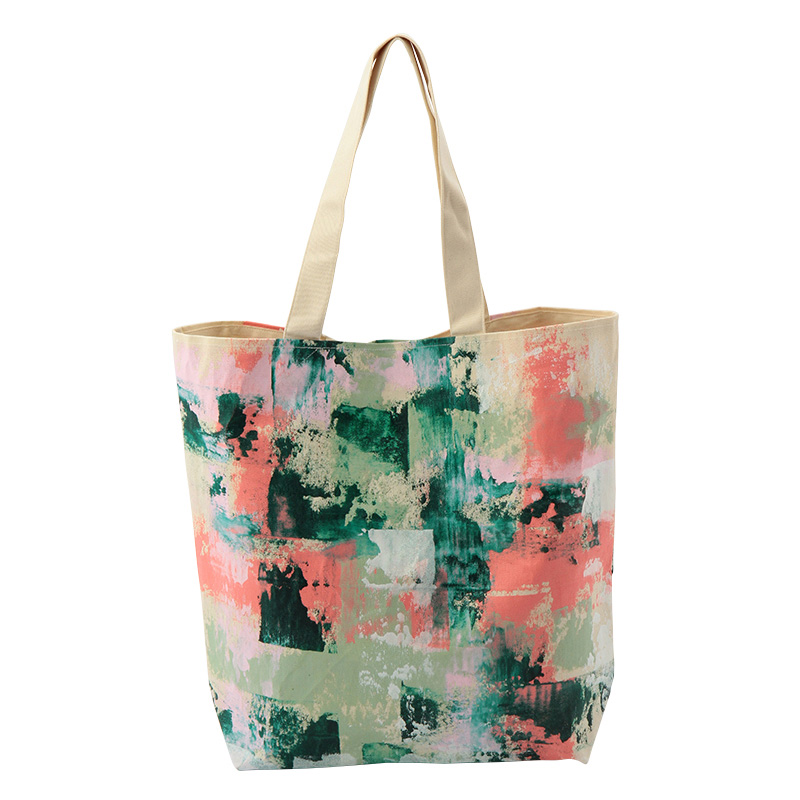 PAINTED TOTE WATERMELON
