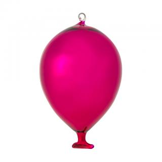 BALLOON MEDIUM SHINY PINK