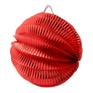 CONCERTINA BALLS 10CM RED