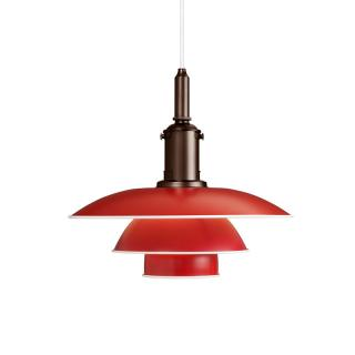 PH 3 1/2-3 PENDANT RED  (Louis Poulsen)