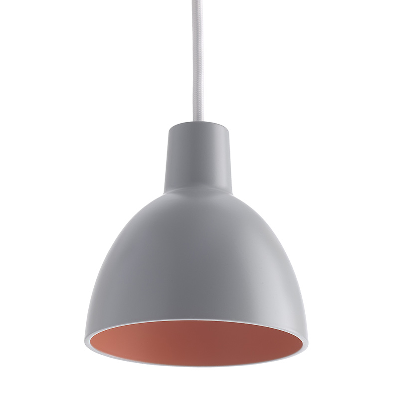 TOLDBOD 120 DUO LIGHT GREY/CORAL  (Louis Poulsen)