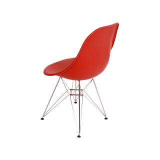 DSR 47 ZE E8/EAMES SHELL CHAIR EIFFEL RED