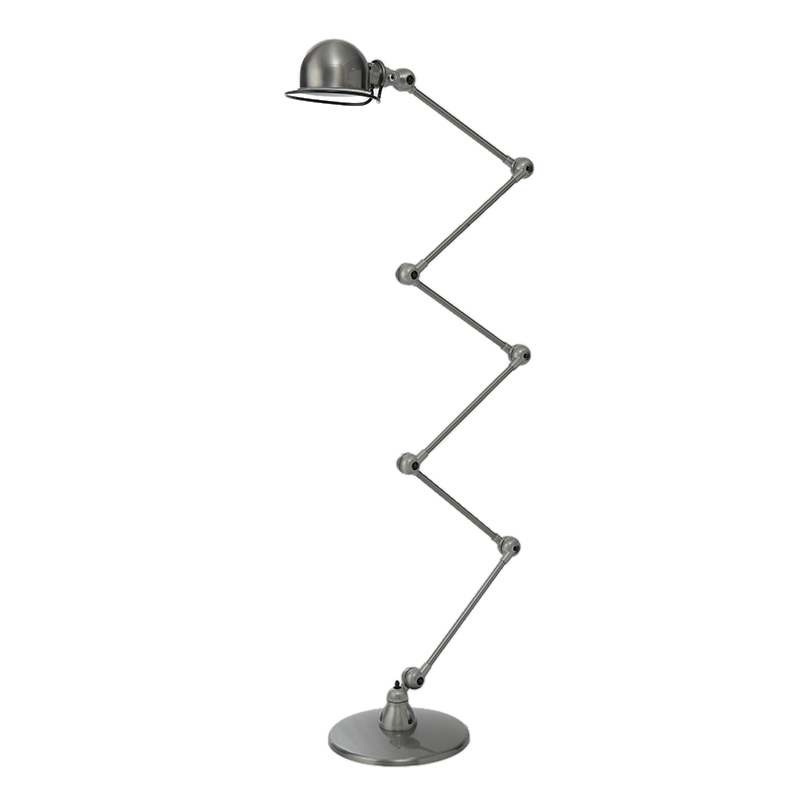 JIELDE FLOOR LAMP BRUSH STEEL JD9406
