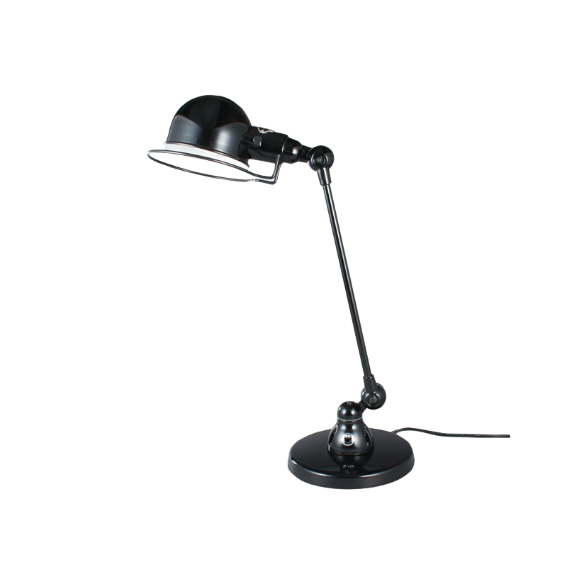 JIELDE SIGNAL DESK LAMP SINGLE ARM BLACK