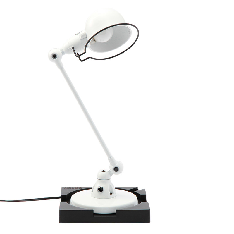 JIELDE SIGNAL DESK LAMP SINGLE ARM WHITE JD303WH