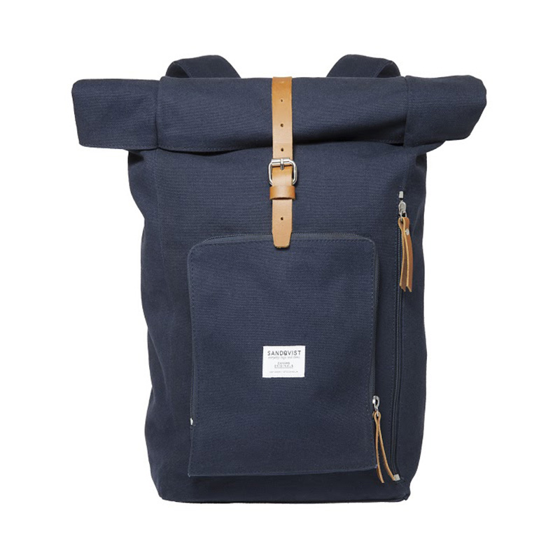 SANDQVIST JERRY  ROLLTOP BACK PACK BLUE