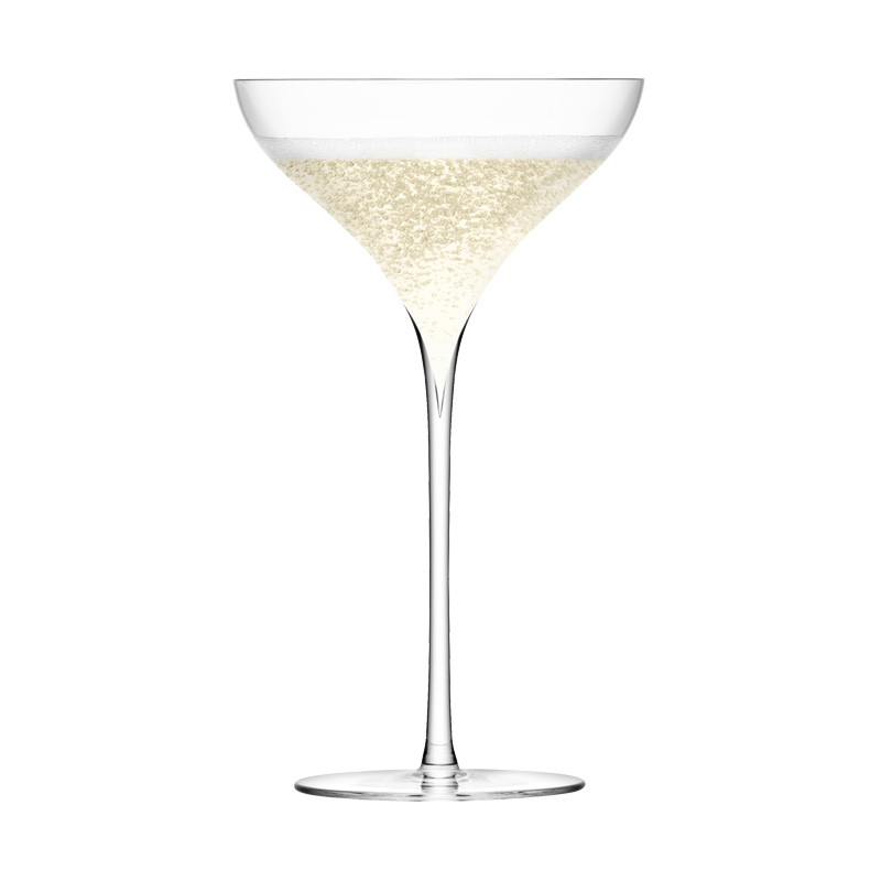 LSA G245-09-301 SAVOY CHAMPAGNE SAUCER CLEAR 250ML