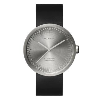 LEFF TUBE WATCH D42 STEEL / BLACK