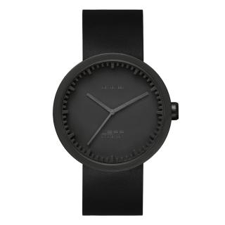 LEFF TUBE WATCH D42 BLACK / BLACK