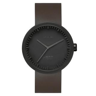 LEFF TUBE WATCH D42 BLACK / BROWN