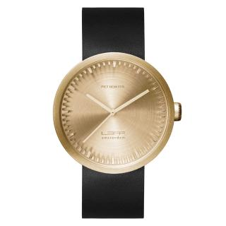 LEFF TUBE WATCH D42 BRASS / BLACK