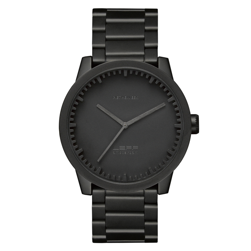 LEFF TUBE WATCH S42 BLACK