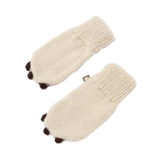 OEUF ANIMAL MITTENS BEAR S