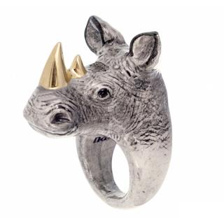 NACH GOLD RHINOCEROS RING 14号