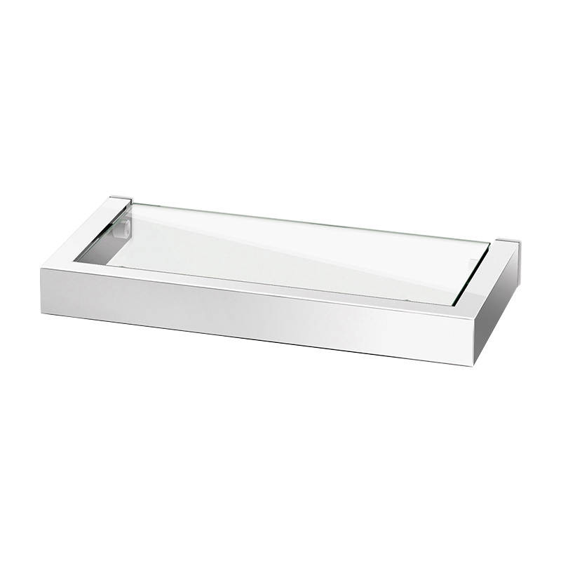 ZACK LINEA BATHROOM SHELF MIRROR 26.5CM
