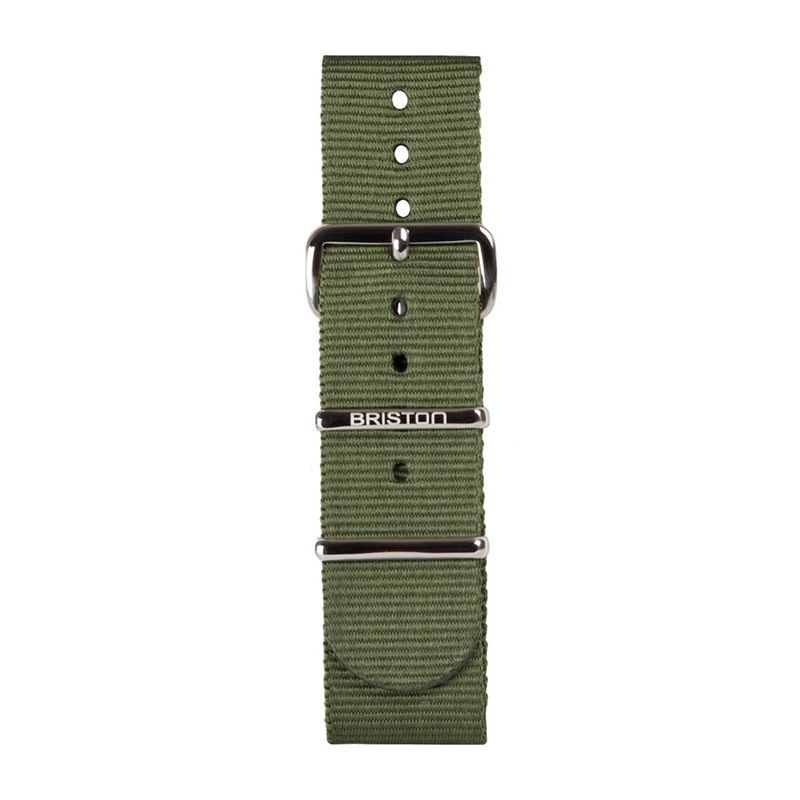 BRISTON NATO STRAP NS20 GREEN ARMY