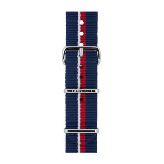 BRISTON NATO STRAP NS20 RN NAVY WHITE RED