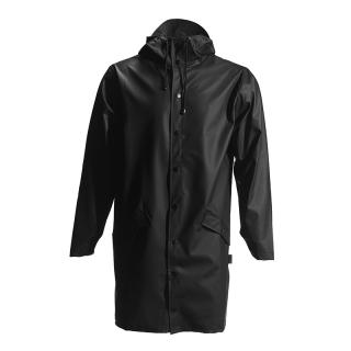 RAINS LONG JACKET BLACK XS/S