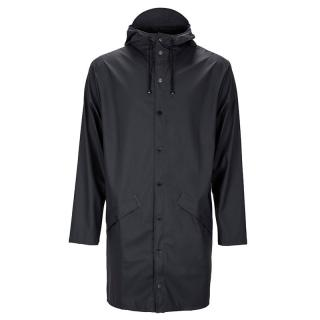RAINS LONG JACKET BLACK XXS/XS