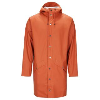 RAINS LONG JACKET RUST XXS/XS