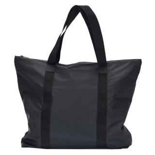RAINS TOTE BAG BLACK