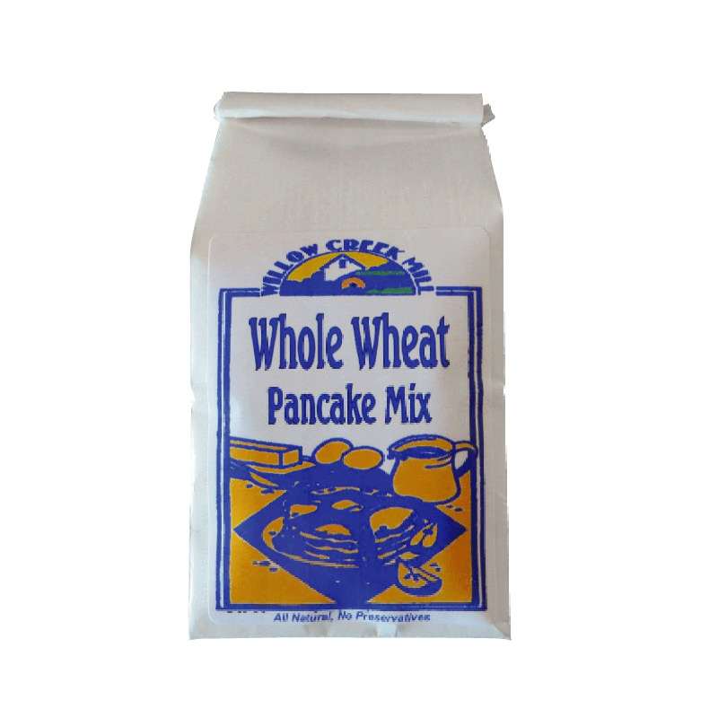 WILLOW CREEK MILL PANCAKE MIX WHOLE WHEAT 452G