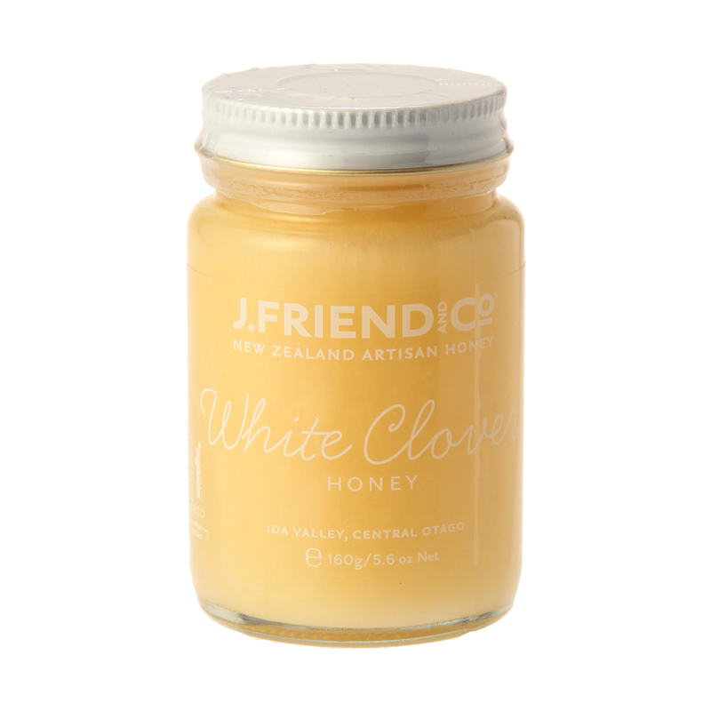 J.FRIEND AND CO WHITE CLOVER HONEY 160G
