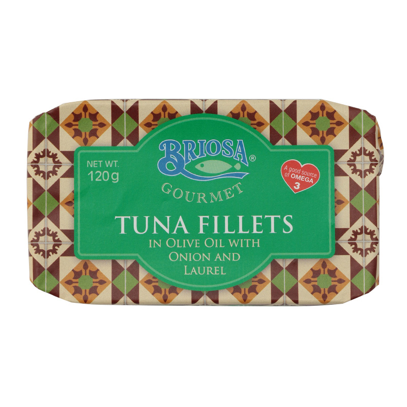 BRIOSA TUNA FILLETS WITH ONION & LAUREL
