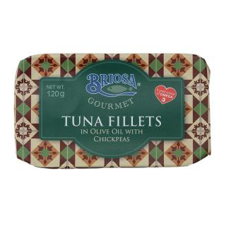 BRIOSA TUNA FILLETS WITH CHICPEAS