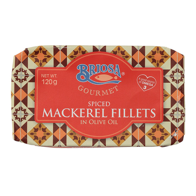 BRIOSA SPICED MACKEREL FILLETS