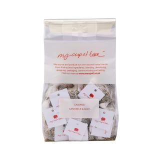MY CUP OF TEA CAMOMILE & MINT MUSLIN