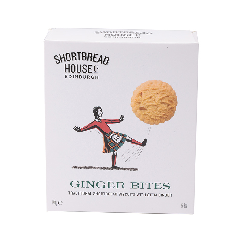 SHORTBREADHOUSE OF EDINBURGH GINGER BITES / SOCCER