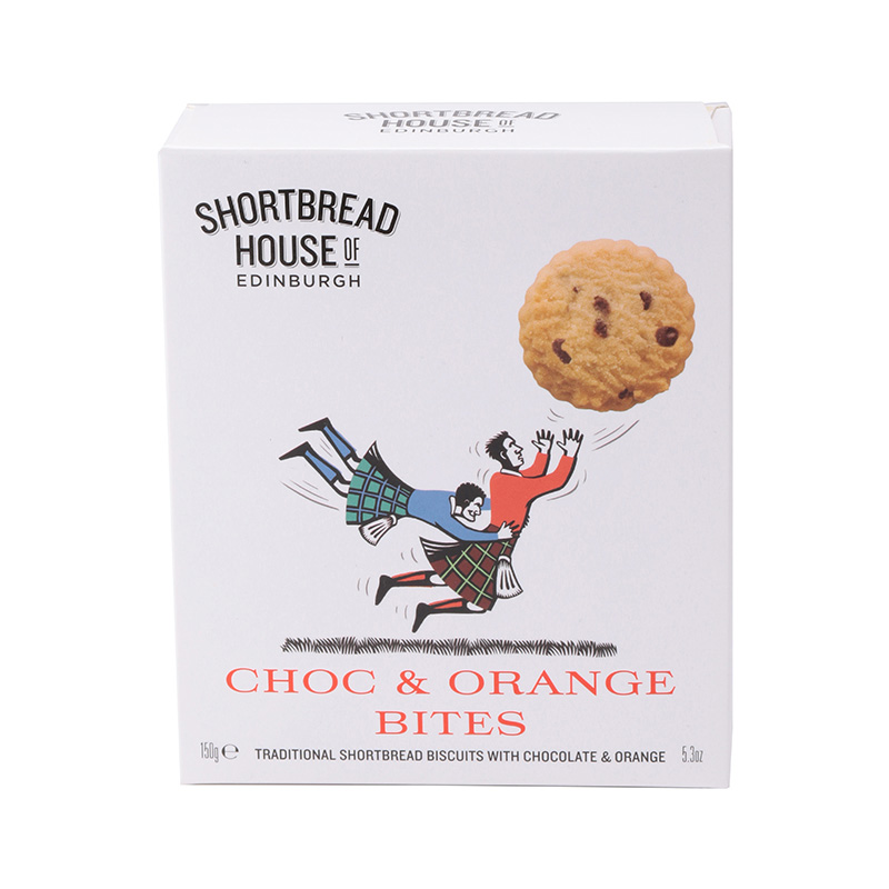 SHORTBREADHOUSE OF EDINBURGH CHOC & ORANGE BITES / RUGBY