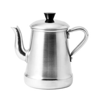 ALUMINIUM COFFEE POT WITH HANDLE 0.5L