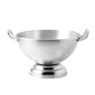 ALUMINIUM COLANDER WITH FOOT