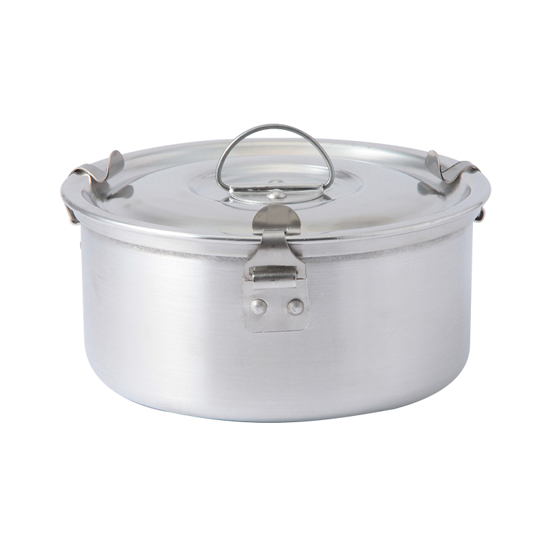 ALUMINIUM CASSEROLE WITH SPRINGS 140
