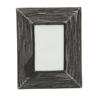 TWISTED WIRE PHOTO FRAME BLACK