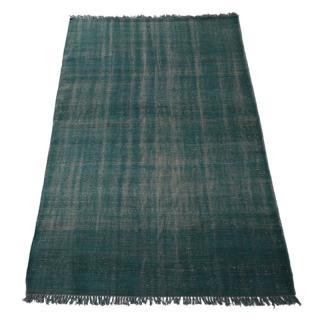 【CLEARANCE】 MA WOOL HAND KNOTTED RUG BLUE 180X270CM