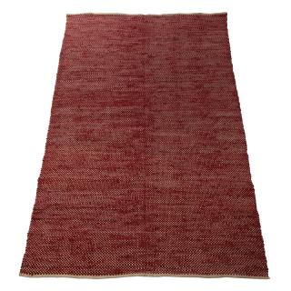 MA COTTON WOVEN RUG  RED 180X270CM