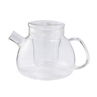 JENAER TEAPOT WITH GLASS STRAINER