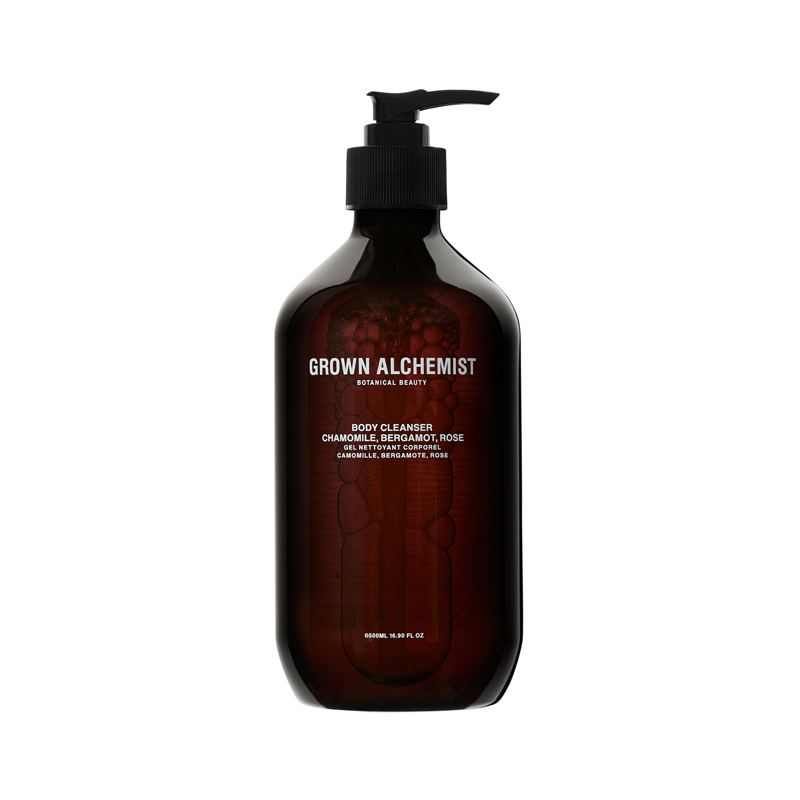 GROWN ALCHEMIST BODY CLEANSER BELGAMOT&ROSEWOOD 500ML